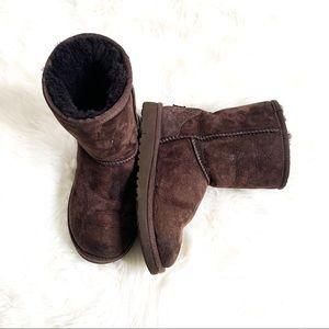 Ugg Kids Classic II Short Brown Boots 1